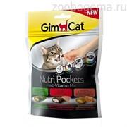 GimCat Подушечки NutriPockets «Malt-Vitamin Mix»