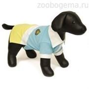 Футболка Dezzie Polo для собак 35 см