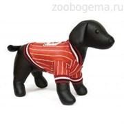 Футболка Dezzie для собак , 35 см (футбол) красный