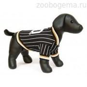 Футболка Dezzie для собак , 35 см (футбол) черный