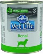 Паштет VET Life Natural Diet Dog Renal для собак