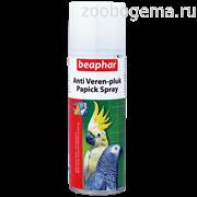 BEAPHAR Спрей Anti Veren-pluk Papick Spray против выдергивания перьев у птиц