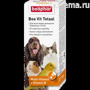 BEAPHAR Кормовая добавка Bea Vit Totaal для всех домашних животных и птиц