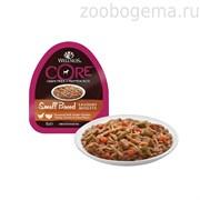 CORE SMALL BREED консервы для собак мелких пород курица с индейкой , морковью и зеленой  фасолью 85 гр