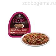 CORE SMALL BREED консервы для собак мелких пород курица с говядиной, зеленой фасолью и красным перцем 85 г