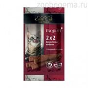 EDEL CAT  Колбаски-мини для кошек Говядина/салями