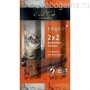 EDEL CAT Колбаски-мини для кошек Телятина/ливерная колбаса