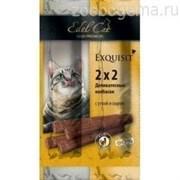 EDEL CAT Колбаски-мини для кошек Утка/сыр