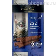 EDEL CAT Колбаски-мини для кошек форель солод