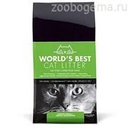 World's Best комкующийся 3,18кг (кукурузный) наполнитель для кошачьих туалетов WBCL Clumping Formula