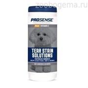 Очищающие салфетки для удаления с шерсти пятен от слез, для животных, 50 шт  Pro-Sense Plus Tear Stain Wipes