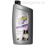 Средство Юрин Офф, для уничтожения пятен и запахов от кошек и котят,  UO Odor and Stain Remover, Cat & Kitten, IC, 946 ml (PT6053)