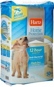 Пеленки впитывающие д/щенков и взрослых собак, 53,3x 53,3 см, 50 шт. HARTZ HP Gel