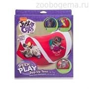 Игрушка д/кошек - Игровой центр, мягкая  JFC PEEK & PLAY CAT TOY