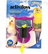 Игрушка д/птиц - Зеркальце с магической шляпой, пластик Activitoy magic hat