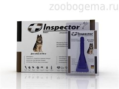 Инспектор Total C Капли д/собак 25-40 кг от внешних и внутренних паразитов арт. I205