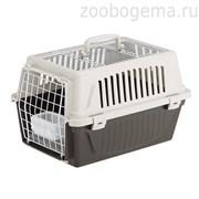Переноска ATLAS 20 OPEN (с ковриком и поилкой) для кошек и собак