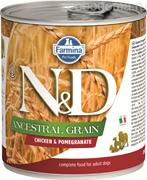 N&D DOG ANCESTRAL GRAIN CHICKEN & POMEGRANATE
