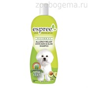 Espree Шампунь с авокадо и алоэ (антиаллергенный), для собак. Allergy Relief Shampoo, 591 ml