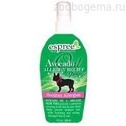 Espree Средство для восстановления шерсти и кожи, с маслом авокадо, для собак. Avocado Oil Allergy Relief, 148 ml