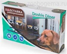 DOUBLE DINER Подставка с 2 мисками по 2,8 л
