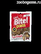 BRITE Let's Bite Лакомство для собак динозавры