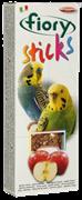 FIORY палочки для попугаев Sticks с яблоком 2х30 г