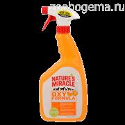 Nature's Miracle Oxy Formula  уничтожитель пятен и запахов для кошек и собак