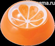 КерамикАрт миска керамическая для грызунов 10 мл Апельсин