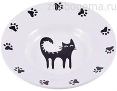 КЕРАМИКАРТ Миска - блюдце для кошек