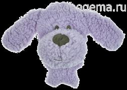 AROMADOG Игрушка для собак BIG HEAD Собачка 12 см сиреневая