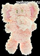 AROMADOG Игрушка для собак Слон 6 см малый розовый