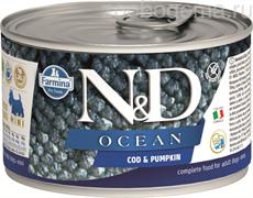 N&D DOG OCEAN COD & PUMPKIN MINI