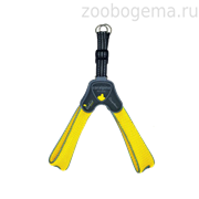 "Мягкая шлейка ""Супер Комфорт"" желтая (обхват груди 20-30 см/0,8-3 кг)  (Harness CINQUETORRI YELLOW SZ1) C100YE010"