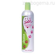 "Pet Silk BRIGHT WHITE SHAMPOO (Шампунь ""Белый"") 1:16, 473мл"
