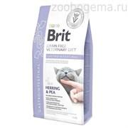 Брит VDC Gastrointestinal беззерновая диета при остр. и хрон. гастроэнтеритах д/кошек, 2 кг