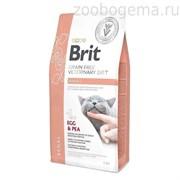 Brit Veterinary Diet Cat Grain free Renal. Беззерновая диета при хронической почечной недостаточности.