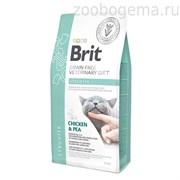 Брит 400 г VDC Struvite беззерновая диета при струвитном типе МКБ д/кошек, 528288