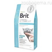 Брит 2 кг  VDC Obesity беззерновая диета при избыточном весе д/кошек, 528479