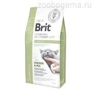 Брит 2 кг VDC Diabetes беззерновая диета при диабете д/кошек, 528523