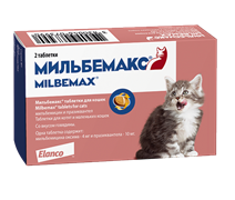 Мильбемакс для молодых кошек и котят 1 табл.