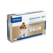 Мильпро дог для щенков и мелких собак  до 5 кг за 1 таб