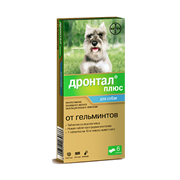 Дронтал Плюс таб.для собак со вкусом мяса 50 мг №6