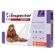 Инспектор Quadro капли д/собак 10-25 кг 1 пипетка /уп