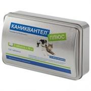 КАНИКВАНТЕЛ ПЛЮС 120табл., антигельминтик д/собак и кошек, 1табл./10кг