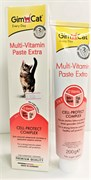 GIMCAT  Мультивитаминная Экстра паста для кошек  200 г