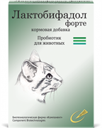 Лактобифадол Форте для кошек 50 г