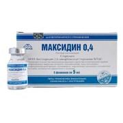 Максидин 0,4% инъекц.р-р, фл. 5мл