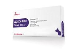 LIVISTO(INVESA) Доксифин (доксициклин) 100мг д/собак (14 таб/блист)