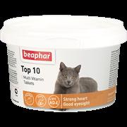Beaphar 13213 Top 10 витамины для кошек с таурином и L-карнитином таб №180